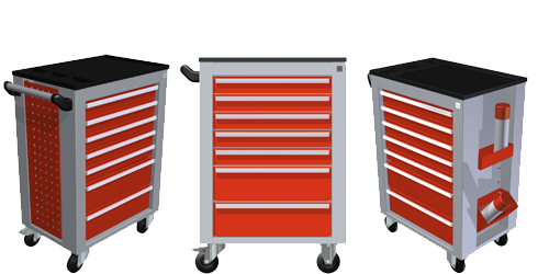Dune-Technology - Look Tool Trolley