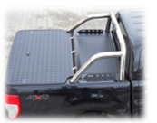 Dune-Technology Aluminum Cargo Cover – Double Plate with Roll Bar