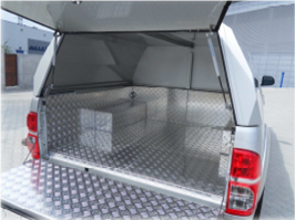 Dune-Technology Aluminum / Stainless Steel Cargo Space Protection
