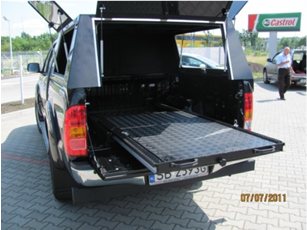 Dune-Technology Sliding Platform