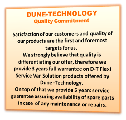 Dune-Technology Quality Commitment